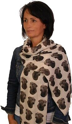 scarf with Great Dane dog on womens fashion printed shawl wrap mike sibley