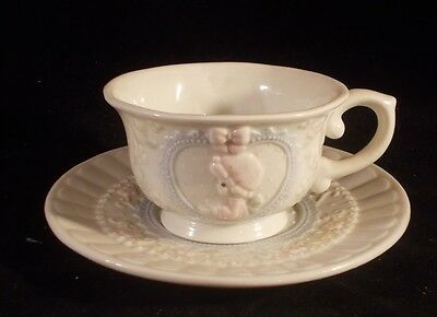 Precious Moments Cup And Saucer Set Vintage 1994