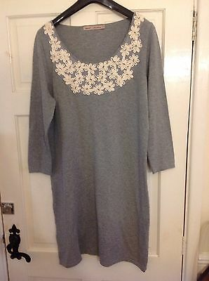 Womens Grey Long Jumper From Next Size 16