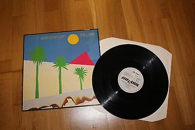 The Cure Boys Dont Cry LP Album RECORD