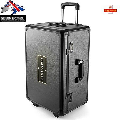 Pull Trolley  Case  Hand Box Case for DJI Phantom 3 Professional Advanced UK