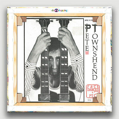 "1982 (7"") PETE TOWNSHEND Face Dances / Man Watching (The Who)"