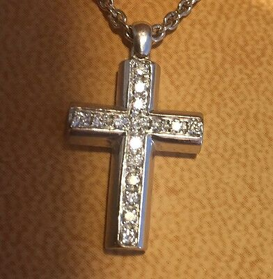 Bvlgari Diamond cross and Chain
