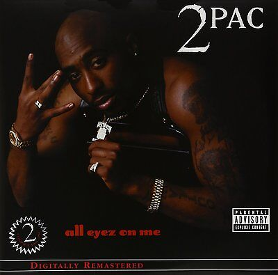 2Pac - All Eyez On Me (Explicit Version) - 2Lp Vinyl Lp - New