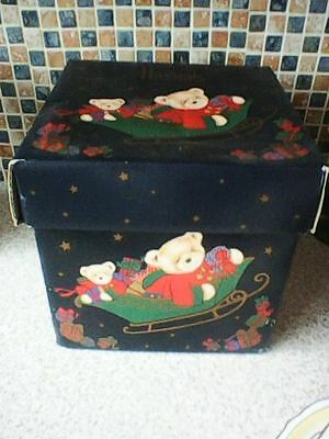 Harrods Knightsbridge For Teddy Bear Or Toy Use Box Only 25Cm Cubed