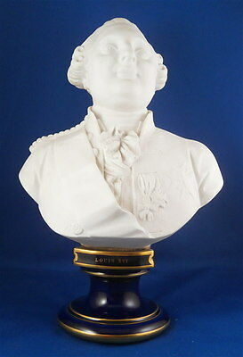 Nice Sevres Porcelain Louis the 16th XVI Bust Husband Marie Antoinette French