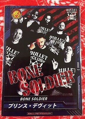 New Japan Pro-Wrestling Trading Card Bone Soldier NJPW WWE Devitt Bullet Club