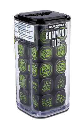 Warhammer 40.000 8th Edition: Command Dice - OVP