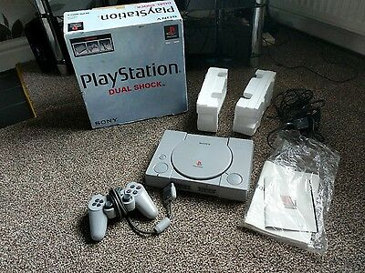 boxed ps1 playstation console COMPLETE scph-9002