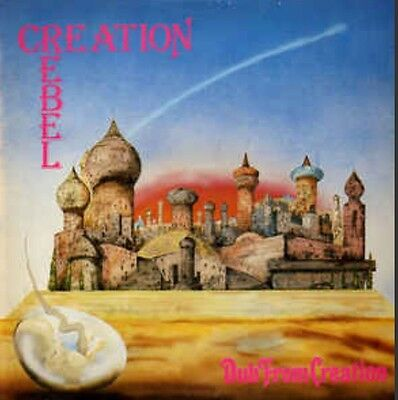 RARE Original 1978 LP Vinyl Press Creation Rebel Dub From Creation HitRun On-U