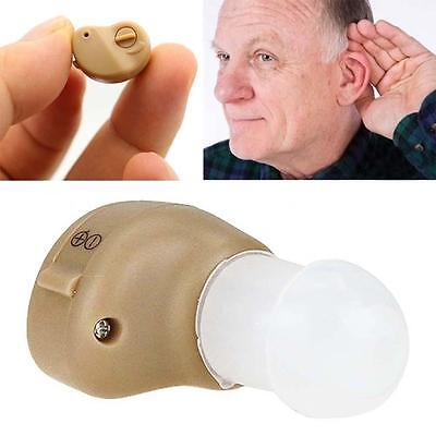 Best Sounds Amplifier Small In The Ear Invisible Adjustable Tone Hearing Aids KU