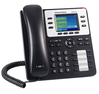 IP Phone Grandstream GXP2130 VoIP SIP Telephone . Stand alone or with PBX system