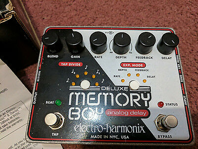 Electro Harmonix Deluxe Memory Boy guitar pedal PRICE REDUCTION
