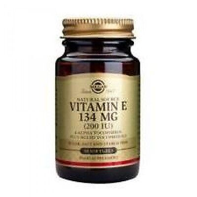 Vitamina E 134 mg 200 UI Solgar Biomercadonatural