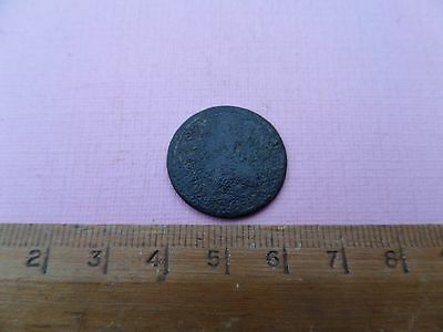 King George 1 Copper Dump Half Penny (220)