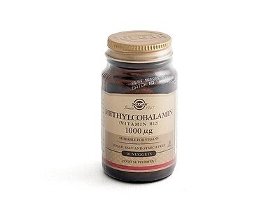 Vitamina B12 1000mg Solgar Biomercadonatural
