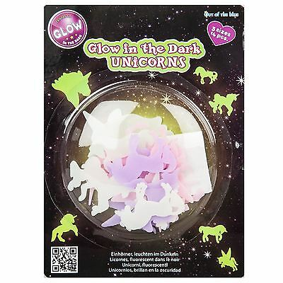 Unicorn  Glow In The Dark Stickers Decal Wall Art Room Decor 14 Pc