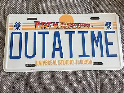 Back To The Future Licence Plate, Universal Studios Florida