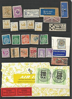 C3/15 SELECTION AUSTRALIA STATE REVENUE  STAMPS & LABLES as scanned + MORE