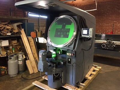 Jones & Lamson Mo FC-30 Optical Comparator & Measuring Machine w/ 5x Lens System
