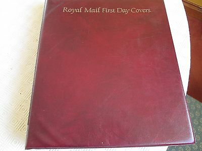 SELLING    ROYAL MAIL FIRST DAY COVERS  X  61 in presentation folder