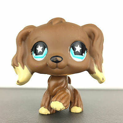 Authentic Littlest Petshop 960 Dog Spaniel Cocker / Chien Epagneul LPS Pet Shop,