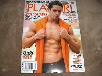 collection of playgirl/penthouse magazines