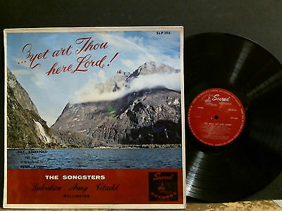 THE SONGSTERS  Salvation Army Citadel  Yet Art Thou Here Lord  LP   Lovely copy!