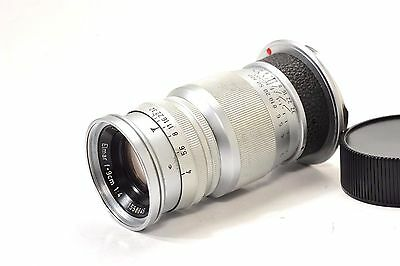 LEITZ  WETZLAR  ELMAR 90mm f4 rangefinder lens in Leica M mount from 1958