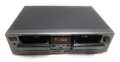 JVC TD-W207 Dual Dolby Stereo Cassette Deck Recorder-CompuLink - Works/Looks A+