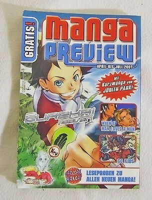 MANGA PREVIEW April bis Juli 2007 | Carlsen Verlag | top Angebot!