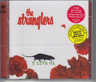 The Stranglers - 5 Live 01   / Best Of Live  / 2 Cd New