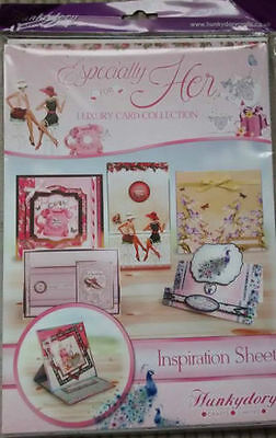 Hunkydory Especially For Her Luxury Card Kit With Verses & Little Book - BNIB