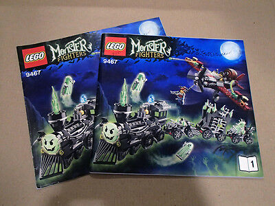 LEGO Monster Fighters: Ghost Train [9467] Original Building Instructions (2of2)