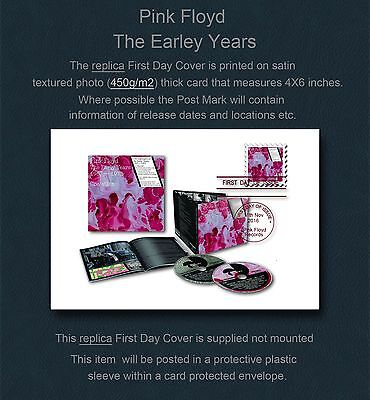 Pink Floyd The early Years Replica First Day Cover