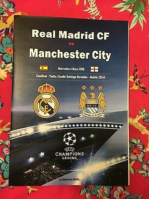 Real Madrid v Manchester City - Champions League - 04/05/2016