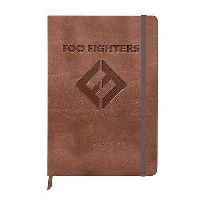 Foo Fighters - Concrete And Gold - Leather Embossed Journal