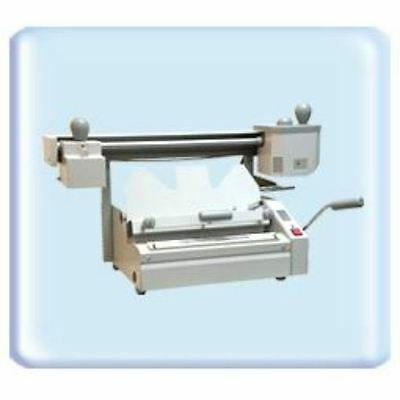 Perfect binding machine 18inch with roughener unit Hot melt glue book binder NEW