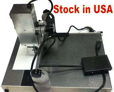 Desktop electric numbering machine,numbering for short run numbering.USA stock