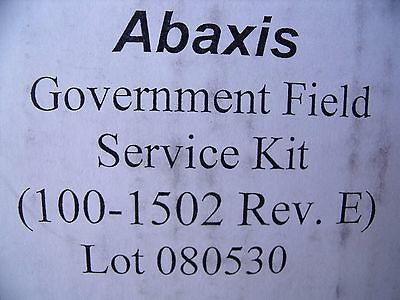 ABAXIS Government Field Service KIT 100-1502 PICCOLO 200-5041 !  L4