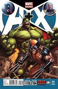 Avengers +X-Men #1#2#3#4 Comic spin offf from A VS X