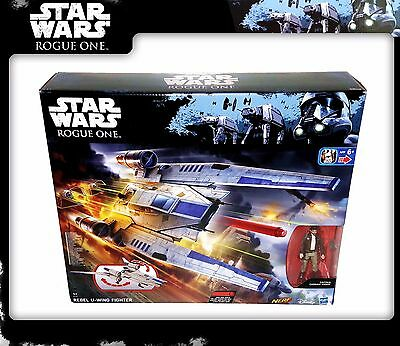 STAR WARS Rogue One: Rebel U-Wing Fighter & Captain Cassian Andor (OVP)