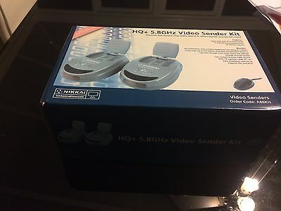Nikkai 5.8GHz HQ Wireless Video Sender - Send Sky to Another TV - Boxed