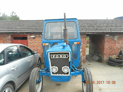 Ford 3600 Tractor With Lambourne Safety Cab