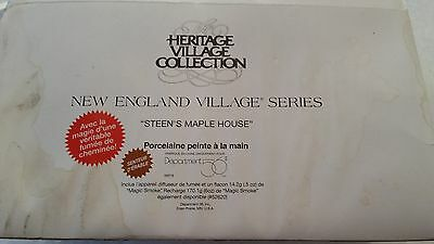 Dept 56 New England ~ Steen's Maple House ~ Mint In Box 56579