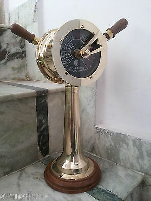 Brass Ship's Engine Order Telegraph Antique Nautical Decorative Collectible