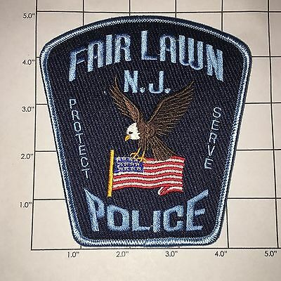 Fair Lawn Police Dept Shoulder Patch - New Jersey - Last One!