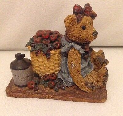 Boyds Bears & Friends Life's Harvest In The Orchard #2006 VGC