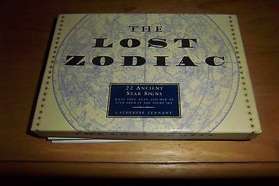 The Lost Zodiac Box Set. Book, 22 Cards w/ Ancient Star Signs, Poster & Map