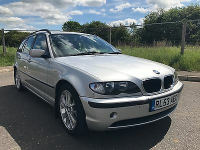 BMW 3 Series 320d Touring with SAT NAV and DVD head unit spares or repairs